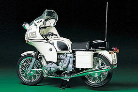 Tamiya BMW R75/5 Police Type Bike Plastic Model Motorcycle Kit 1/6 Scale #16006