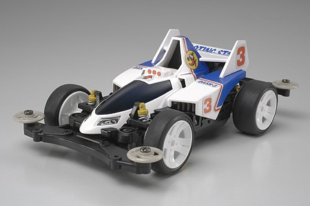 Tamiya Dash-3 Shooting Star MS Chassis -- Mini 4wd Car -- #18630