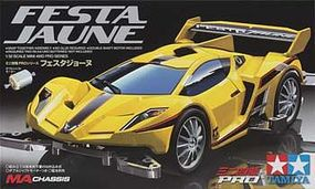 Tamiya JR Festa Jaune Mini 4wd Car #18637