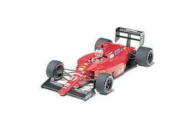 Tamiya Ferrari F189 Portuguese G.P. Racecar Open Wheel F1 Plastic Model Car Kit 1/20 Scale #20024
