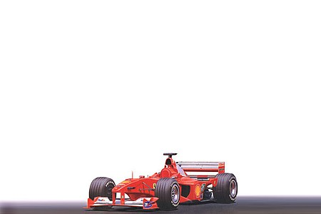 Tamiya Ferrari F1-2000 Formula Racecar Open Wheel F1 GP Plastic Model Car Kit 1/20 Scale #20048