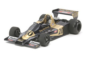 Tamiya Wolf WR1 1977 Formula Racecar Open Wheel F1 GP Plastic Model Car Kit 1/20 Scale #20064