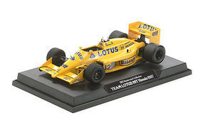 Tamiya LOTUS 99T HONDA 1987 #12 F1 Racecar Pre-Built Plastic Model Car 1/20 Scale #21112