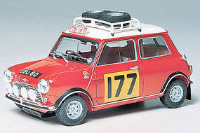 Tamiya Mini Cooper 1275S Rallycar Racecar Plastic Model Car Kit 1/24 Scale #24048