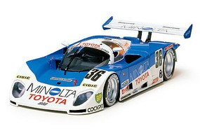 Tamiya Toyota 88C-V Minolta Racecar GP Plastic Model Car Kit 1/24 Scale #24079