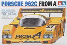 Tamiya Porsche 962C From A Racecar Plastic Model Car Kit 1/24 Scale #24089