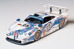 Tamiya Porsche 911 GT1 Racecar GT1 Plastic Model Car Kit 1/24 Scale #24186