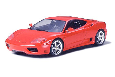 Tamiya Ferrari 360 Modena Sportscar Coupe -- Plastic Model Car Kit -- 1/24 Scale -- #24298