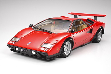 Tamiya Lamborghini Countach LP500S Lambo -- Plastic Model Car Kit -- 1/24 Scale -- #24306