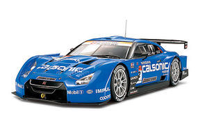 Tamiya Calsonic Impulse GT-R R35 Nissan Racecar Plastic Model Car Kit 1/24 Scale #24312