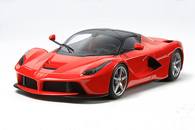 Tamiya LaFerrari Ferrari Roadster -- Plastic Model Car Kit -- 1/24 Scale -- #24333