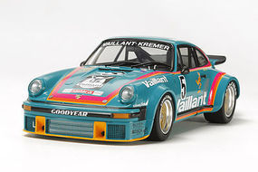Tamiya Porsche 934 Turbo RSR Vaillant Racecar Plastic Model Car Kit 1/24 Scale #24334