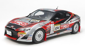 Tamiya GAZOO Racing TRD 86 2013 TRD Rally Challenge Plastic Model Car Kit 1/24 Scale #24337