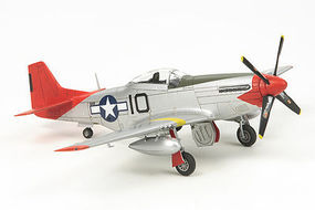 Tamiya North American P-51D Mustang Tuskegee Airmen Plastic Model Airplane Kit 1/72 Scale #25148