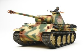 Tamiya Ger Panther Ausf.G Early Prod. w/Motor Plastic Model Military Tank Kit 1/35 Scale #30055