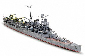 Tamiya IJN Mogami Cruiser Waterline Boat Plastic Model Military Ship Kit 1/700 Scale #31341