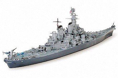 Tamiya BB-63 Missouri Battleship Boat -- Plastic Model Military Ship Kit -- 1/700 Scale -- #31613