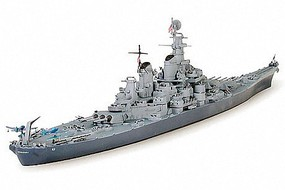 Tamiya BB-63 Missouri Battleship Boat Plastic Model Military Ship Kit 1/700 Scale #31613