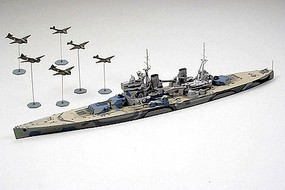 Tamiya British Prince of Wales Battleship Boat Plastic Model Military Ship Kit 1/700 Scale #31615