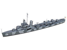 Tamiya Navy Destroyer DD412 Hammann Boat Plastic Model Military Ship Kit 1/700 Scale #31911