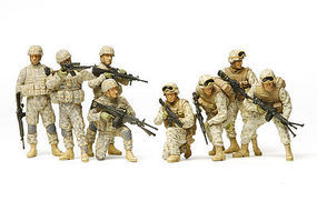 Tamiya US Modern Infantry Iraq War Soldiers Plastic Model Military Figure Kit 1/35 Scale #32406