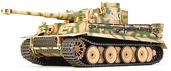 Tamiya German Battle Tiger Tank I Early Prod -- Plastic Model Military Vehicle Kit -- 1/48 Scale -- #32504