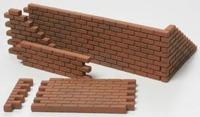 Tamiya Brick Wall/SandBag/Barricade Set Plastic Model Military Diorama Kit 1/48 Scale #32508