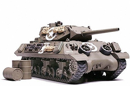 Tamiya US Battle Tank Destroyer M10 -- Plastic Model Military Vehicle Kit -- 1/48 Scale -- #32519