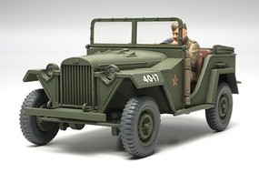 Tamiya Russian Field Car GAZ-67B WWII Plastic Model Military Vehicle Kit 1/48 Scale #32542