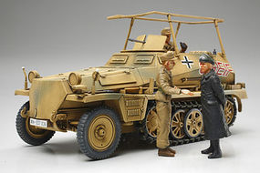 Tamiya German Sd.Kfz.250/3 Greif Plastic Model Military Vehicle Kit 1/48 Scale #32550