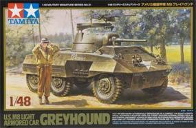 Tamiya US M8 Light Armored Car Greyhound Plastic Model Military Vehicle Kit 1/48 Scale #32551