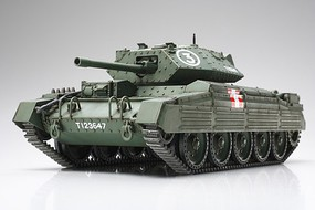 Tamiya British Crusader Mk III/VI Cruiser Tank Plastic Model Military Vehicle Ki 1/48 Scale #32555