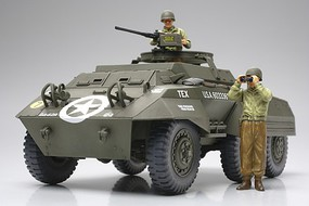 Tamiya US M20 Armored Utility Car Plastic Model Military Vehicle Kit 1/48 Scale #32556