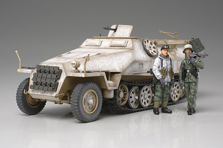 Tamiya Mtl.SPW. Sd.Kfz 251/1 Ausf.D -- Plastic Model Military Vehicle Kit -- 1/48 Scale -- #32564