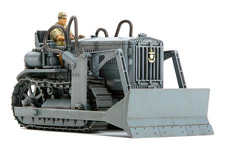 Tamiya Komatsu G40 Bulldozer Japanese Navy -- Plastic Model Military Vehicle Kit -- 1/48 Scale -- #32565
