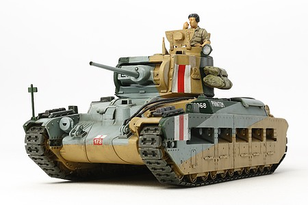 Tamiya Matilda Mk.III/IV British Tank Mk. -- Plastic Model Military Vehicle Kit -- 1/48 Scale -- #32572