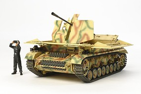 Tamiya Flakpanzer IV Mobelwagen Plastic Model Military Vehicle Kit 1/48 Scale #32573
