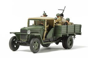 Tamiya Russian 1.5-Ton Model 1941 Cargo Truck Plastic Model Military Vehicle 1/48 Scale #32577