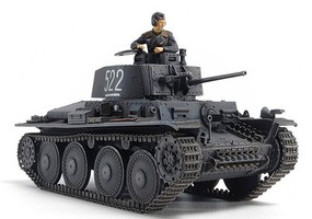 Tamiya German Panzer 38(t) Ausf.E/F Plastic Model Military Vehicle Kit 1/48 Scale #32583