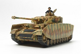 Tamiya German Panzer IV Ausf.H Late Production Plastic Model Military Vehicle 1/48 Scale #32584