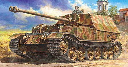 Tamiya German Tank Destroyer Elefant -- Plastic Model Military Vehicle Kit -- 1/48 Scale -- #32589