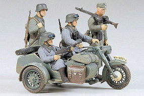 Tamiya German BMW R75 w/Car Plastic Model Military Vehicle Kit 1/35 Scale #35016