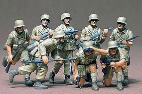Tamiya German DAK Africa Corps Soldier Set Plastic Model Military Figure Kit 1/35 Scale #35037