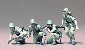 Japanese Army Infantry Soldier Set Plastic Model Military Figure Kit 1/35 Scale #35090