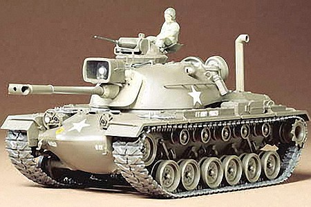 Tamiya US M48A3 Patton Tank -- Plastic Model Military Vehicle Kit -- 1/35 Scale -- #35120