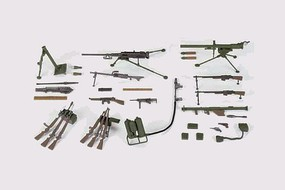 Tamiya US Infantry Weapons Set Plastic Model Military Diorama Kit 1/35 Scale #35121