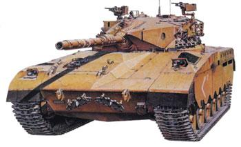 Tamiya Israeli Merkava Main Battle Tank -- Plastic Model Military Vehicle Kit -- 1/35 Scale -- #35127