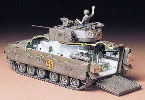 Tamiya US M2 Bradley IFV Tank Plastic Model Military Vehicle Kit 1/35 Scale #35132