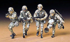 US Modern Infantry Soldier Set Plastic Model Military Figure Kit 1/35 Scale #35133