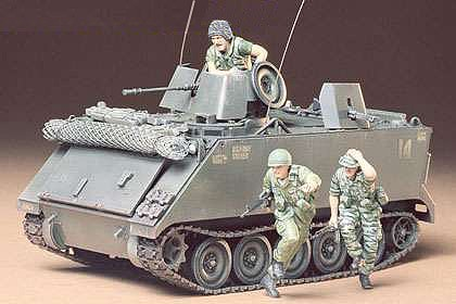 Tamiya US M113 ACAV Support Vehicle -- Plastic Model Military Vehicle Kit -- 1/35 Scale -- #35135